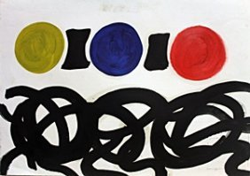 Untitled 1960' - Adolph Gottlieb