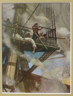 Battleship - Lithograph - Weyth