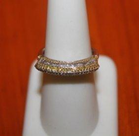 Rare Champagne Diamond Ring