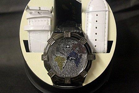 Men's Very Fancy Diamond Maxx Watch with Exchangable