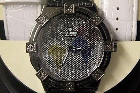 Men's Very Fancy Diamond Maxx Watch with Exchangable - 2