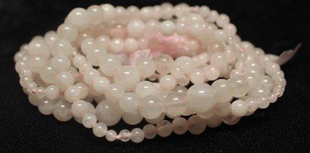 Fancy Pink Jade Necklace - 2