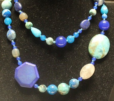 Fancy Multicolor Jade Necklace