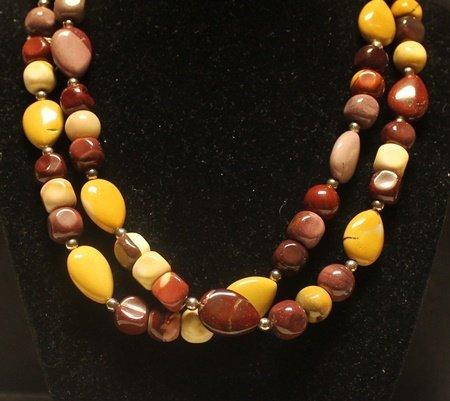 Beautiful Multicolor Agate Necklace