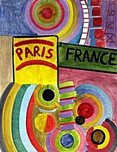 Composition 1930' - Robert Delaunay