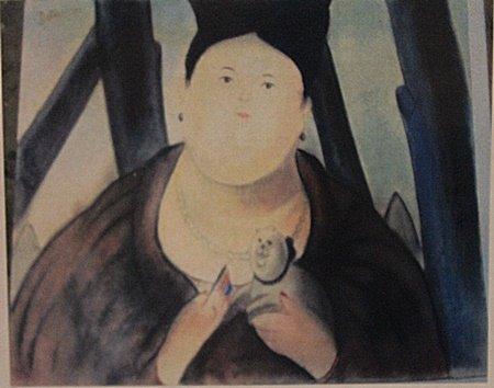 Fernando Botero - Señora Gisela