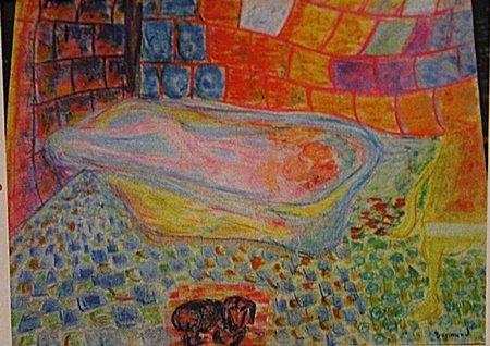Pierre Bonnard - Woman in the Bathtub