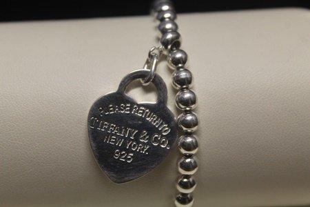 Lavish   Heart Silver Bracelet