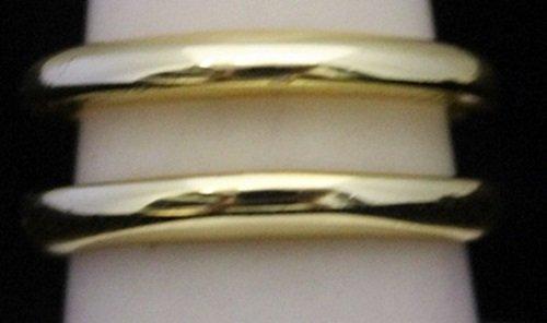 Lady's Fancy 14kt Gold over Silver Designer Ring (205I)