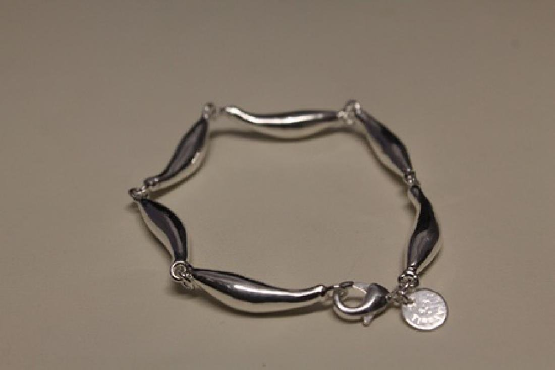 Lavish Chic Silver Bracelet (45B)