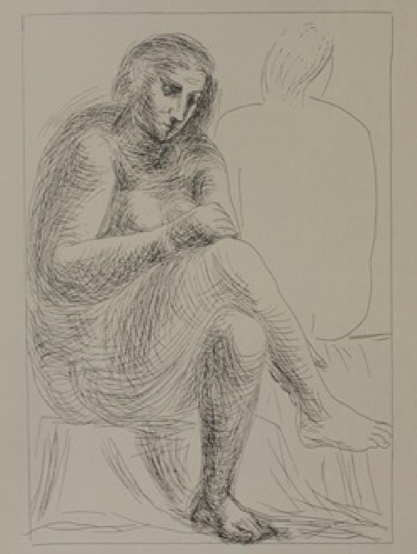 The Bath - Lithograph  -  Picasso