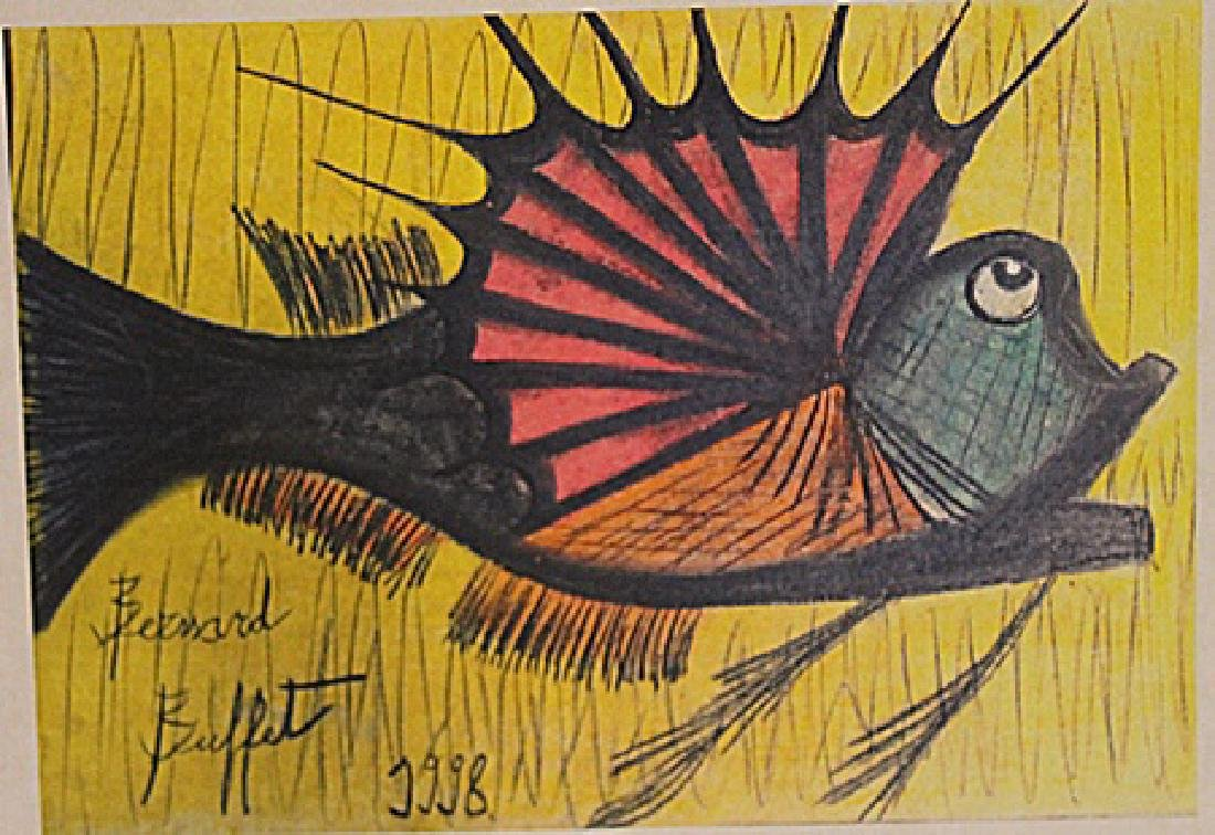 Bernard Buffet - The Fish