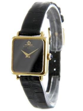 Unisex 18K Gold Baume & Mercier Watch