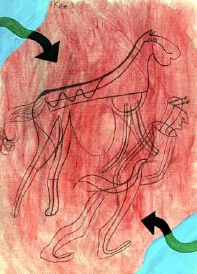 The Way 1905' - Oil on Paper - Paul Klee