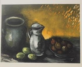 Still life with jugs - Lithographs -  Maurice de