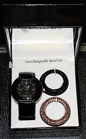 Very Stylish Interchangable Bezel Set Watch by