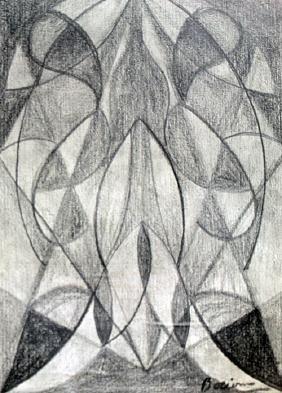 Materia 1912 - Drawing on Paper - Umberto Boccioni
