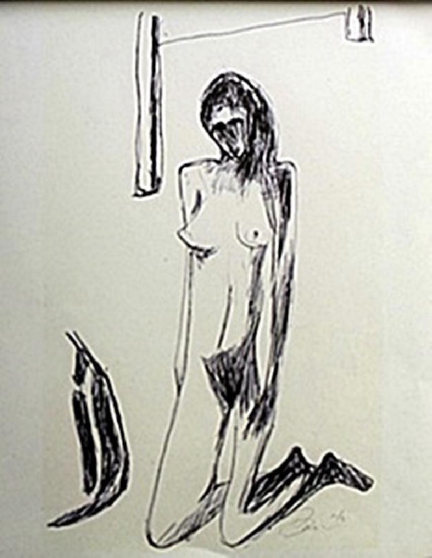 Lithograph   William Brice