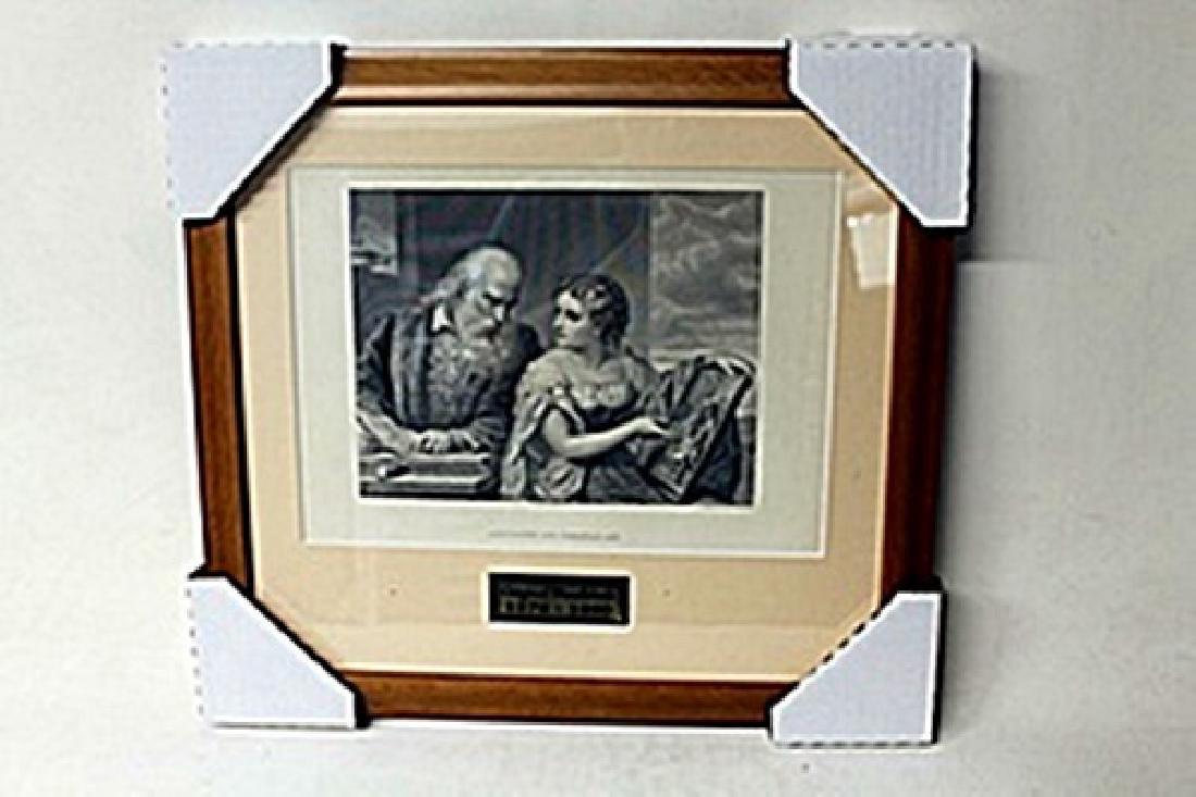 """Philosophy And Christian Art""     Artist G. Huntington"