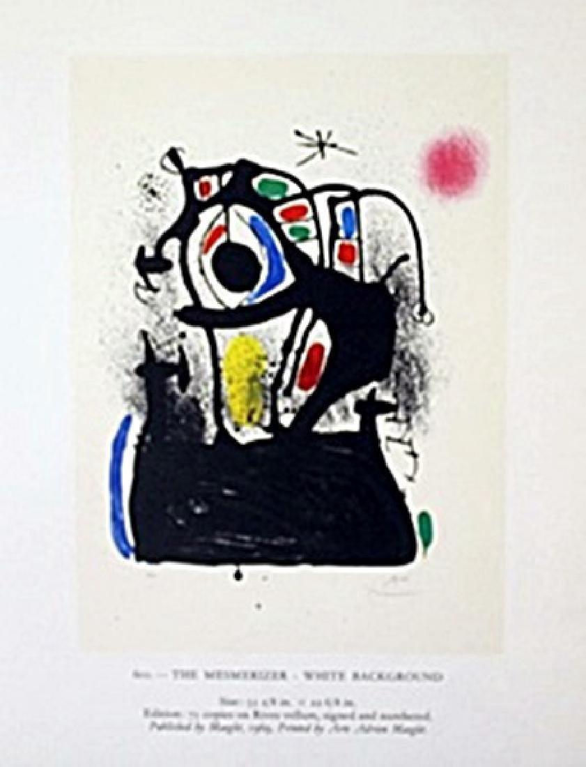 "Lithograph ""The Mesmerizer""     Joan Miro"