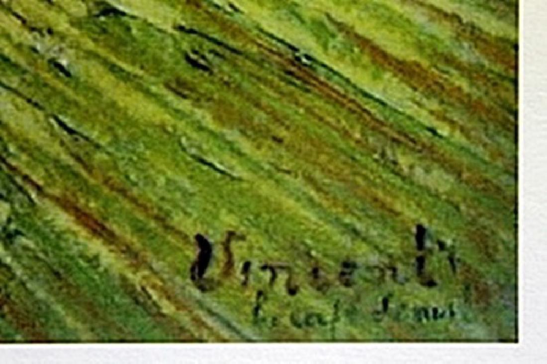 """Lithograph """"The Rec Room""""   Vincent Van Gogh - 2"""