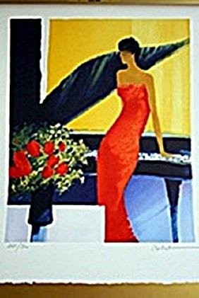 Lithograph     Emile Bellet