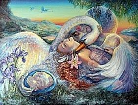 "Giclée ""Leda and the Swan""  Josephine Wall"