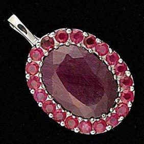Very Fancy Ruby Pendant