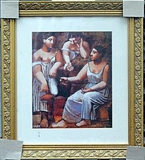 """""""Three Woman at the Spring""""     Pablo Picasso"""