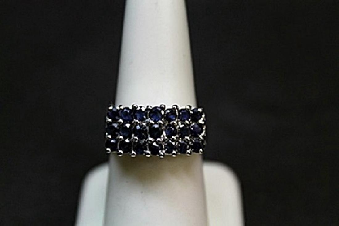 Unisex Fancy Sapphire Ring (5BL)