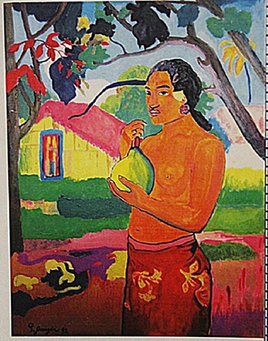 Paul Gauguin - Tahiti Girl