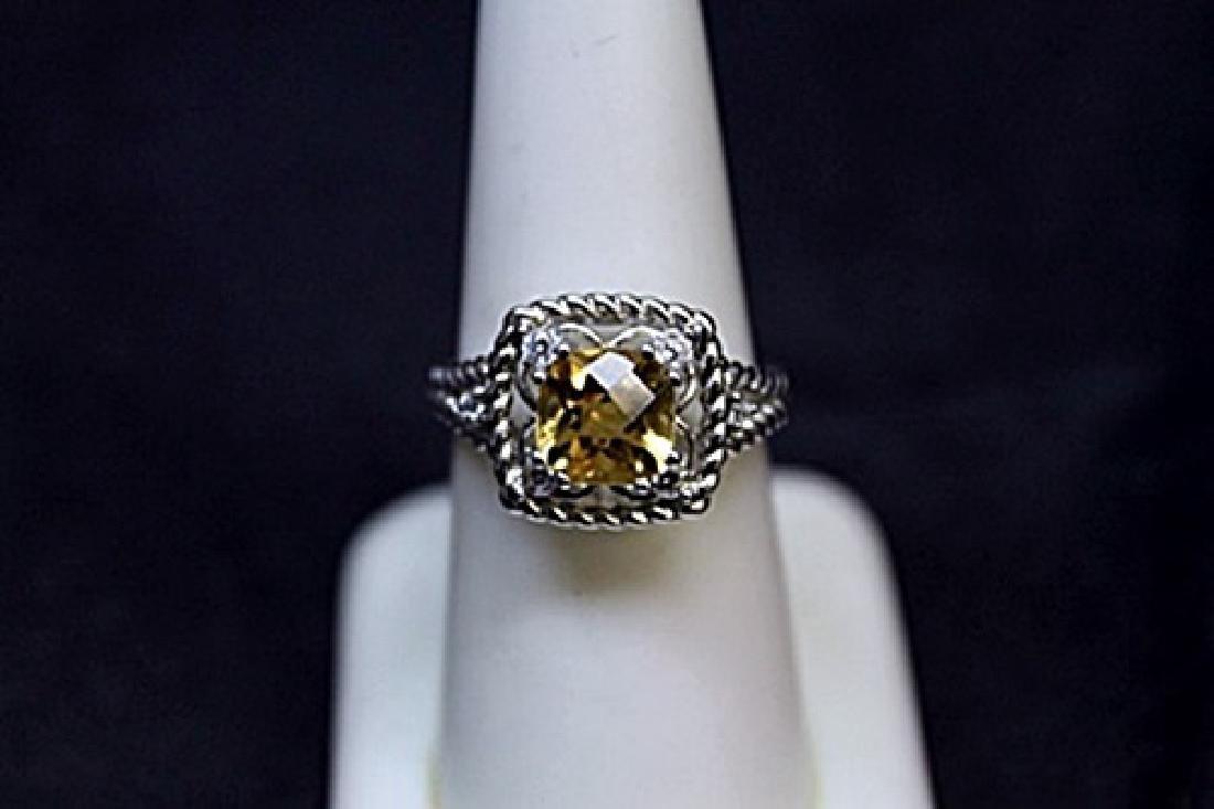 Very Fancy Golden Sophie Diamond Ring.