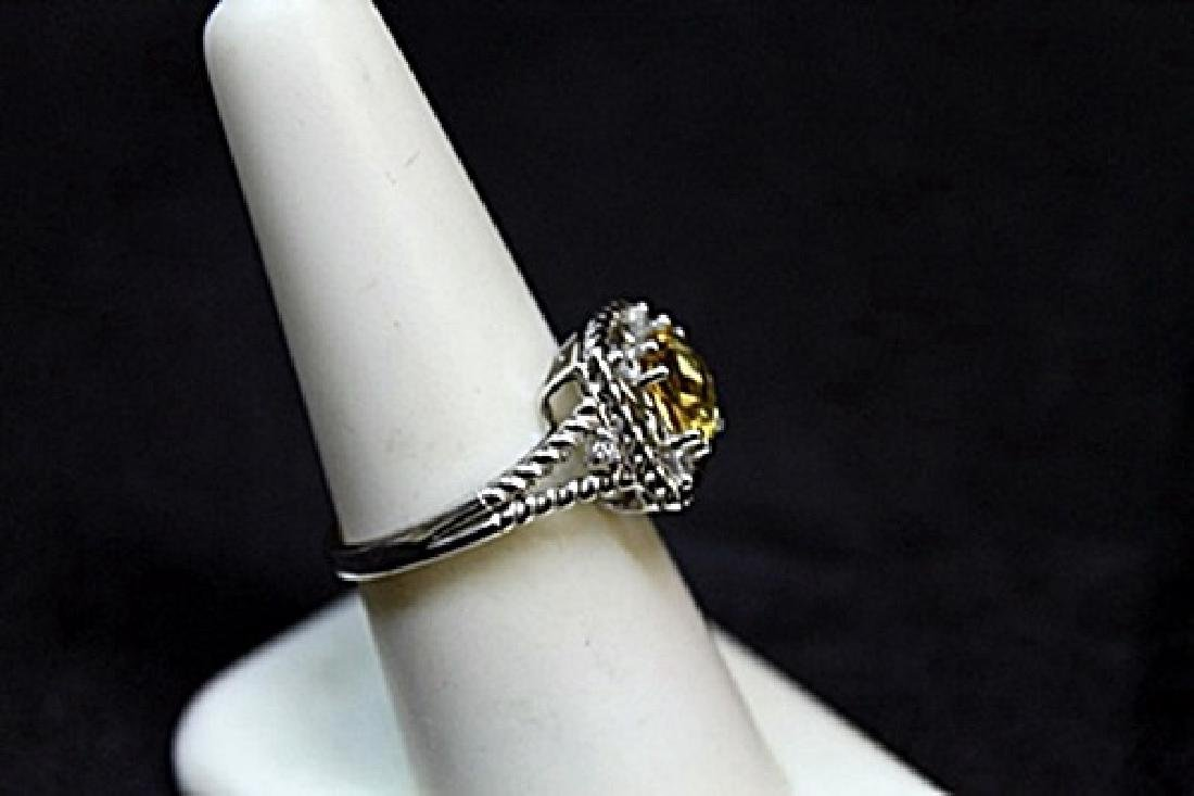 Very Fancy Golden Sophie Diamond Ring. - 2