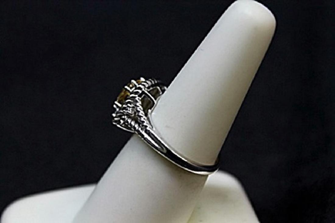 Very Fancy Golden Sophie Diamond Ring. - 3