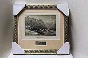 """Iceberg Lake, Isterdal""     Artist R.T. Pritchett"