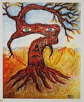 Odilon Redon - The Tree