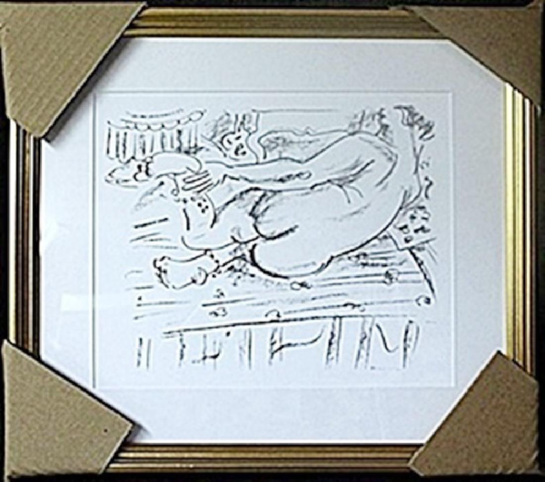 Framed Lithograph  Henri Matisse