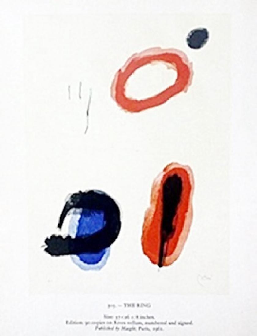 "Print ""The Ring""     Joan Miro"