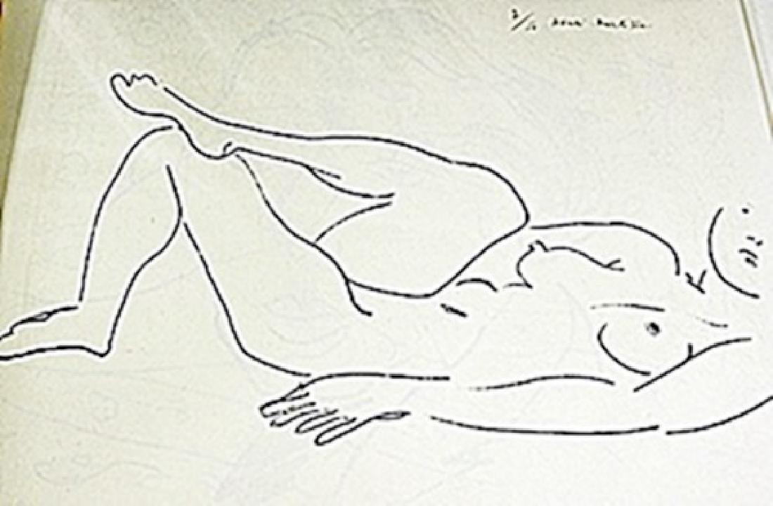 Lithograph  Henri Matisse