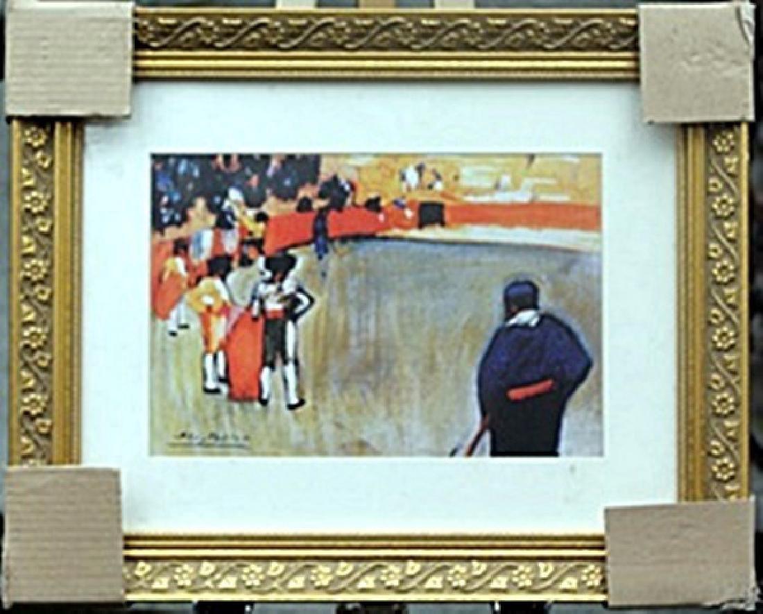 """BullFight II""     Pablo Picasso"