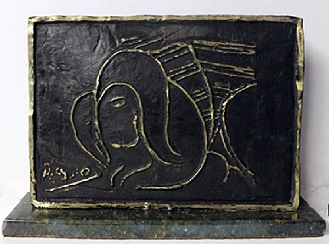 """""""JEANETTE"""" Bronze Sculpture After Pablo Picasso (N)"""