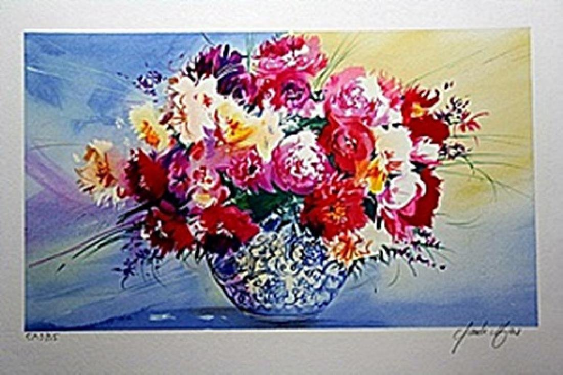 Limited Edition Lithograph     Artist Claude Mars