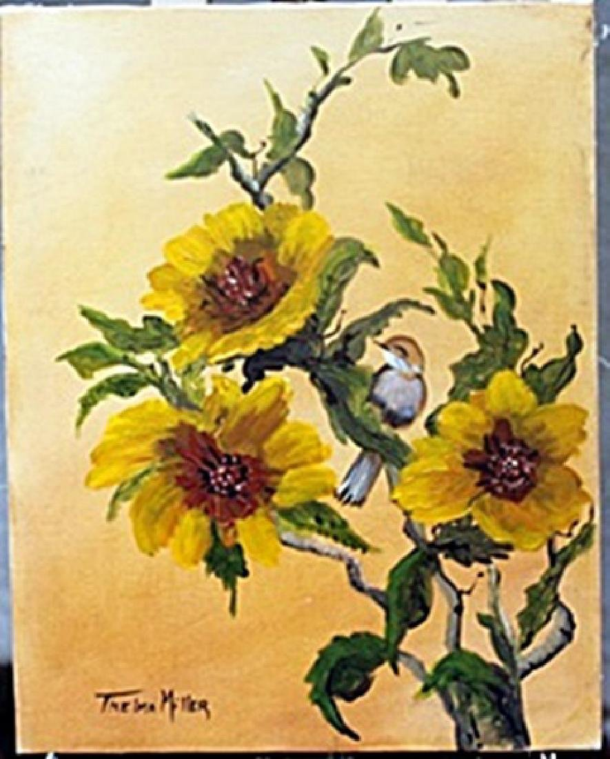 Acrylic Painting     Thelma Miller