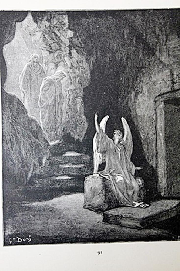 """The Dore Bible Gallery """"The Angel at the Sepulchre"""""""