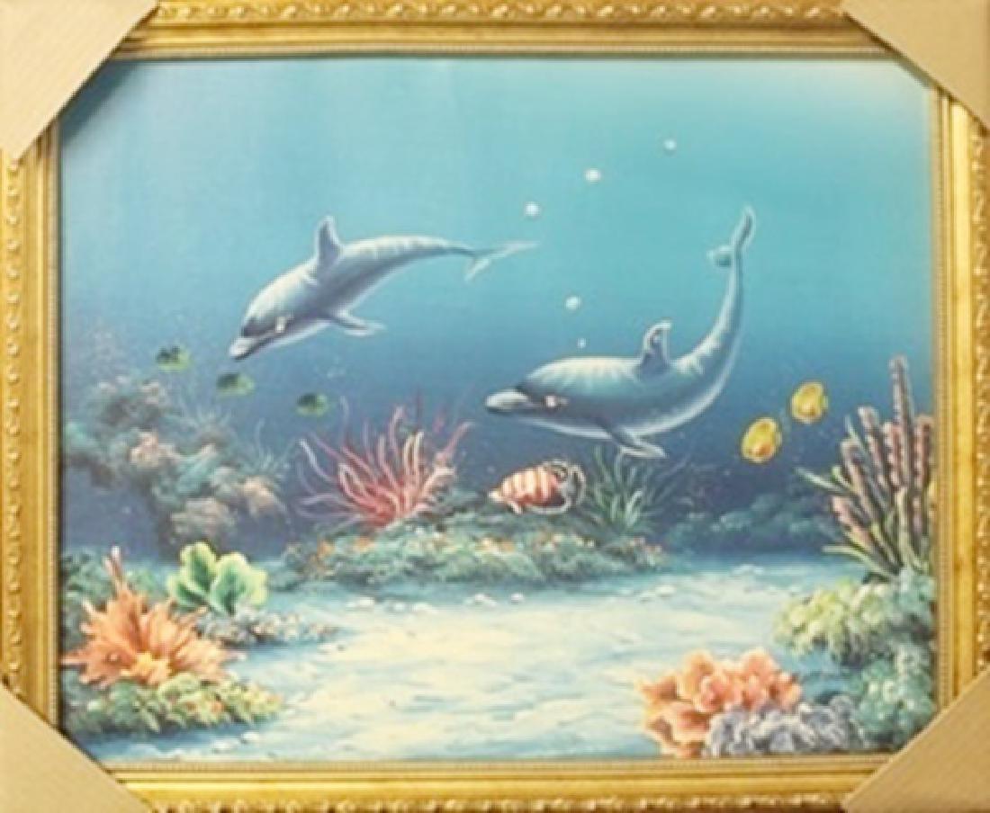 Original Oil on Canvas by T. Mattirson