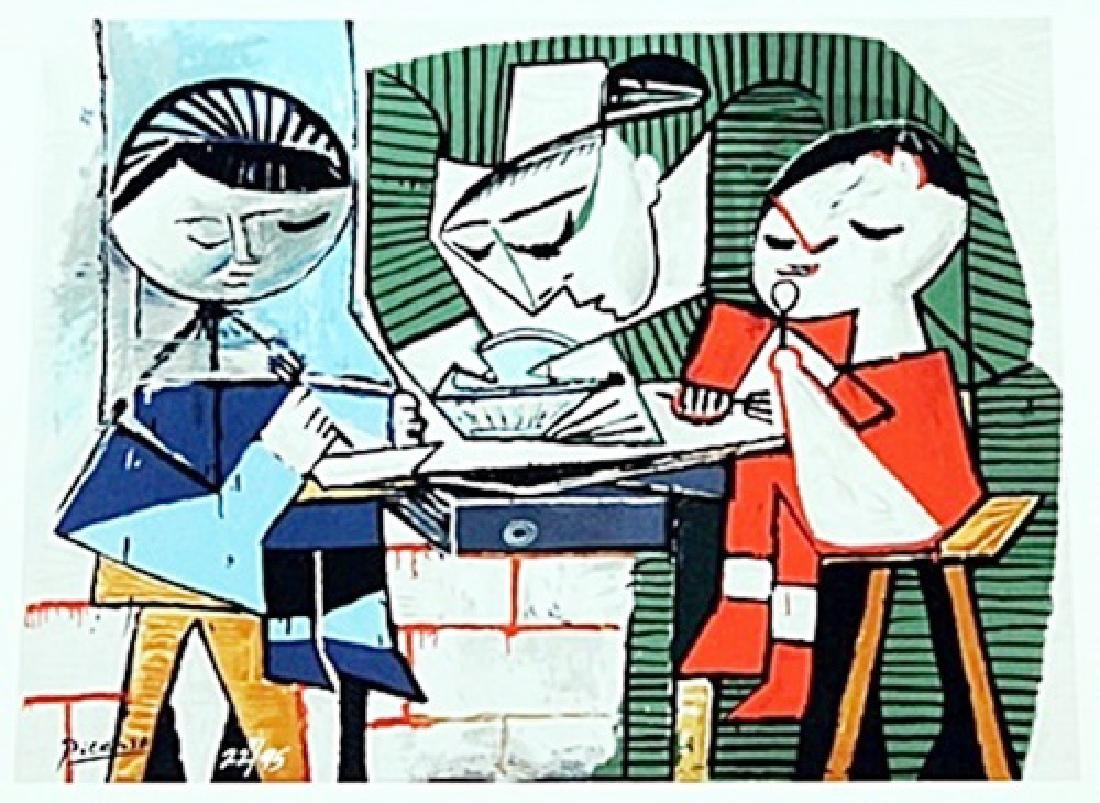 Le Repasdes Enfants BY PABLO PICASSO