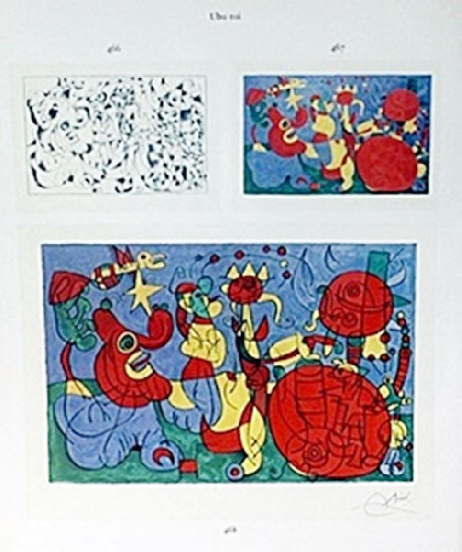 "Print ""Ubu Roi""     Joan Miro"