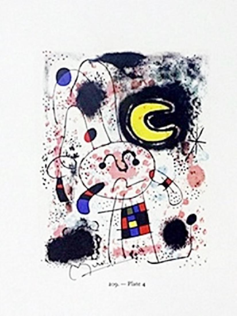 "Print ""Plate""     Joan Miro"