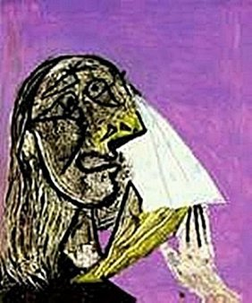 Weeping woman-Collection Domaine Picasso