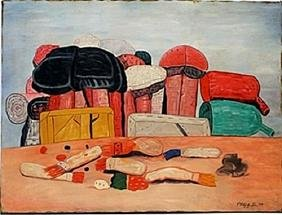 Original Oil on Canvas by Phillip Guston
